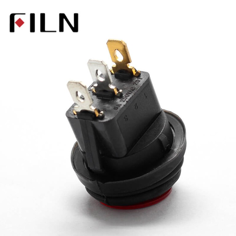 KCD1 Waterproof Rocker Switch With Led Lamp