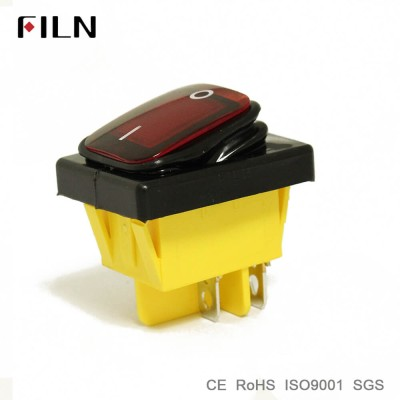 NEW Arrival KCD4 Waterproof Rockerswitch With Led Lamp