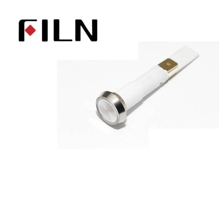 10mm 0.39inch 12V plastic led lndicator light(FL1P-10NJ-4)
