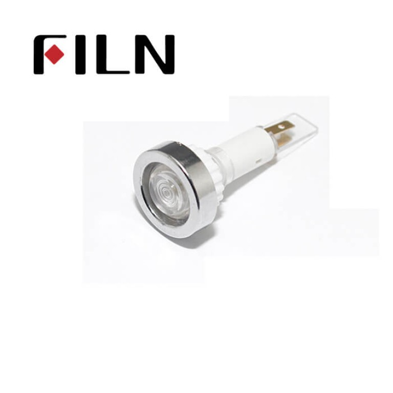 10mm 0.39inch 12V plastic led lndicator light(FL1P-10NJ-1)