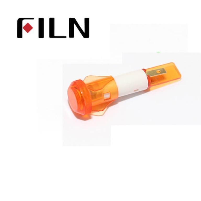 10mm 0.39inch 12V plastic led lndicator light(FL1P-10QJ-2)