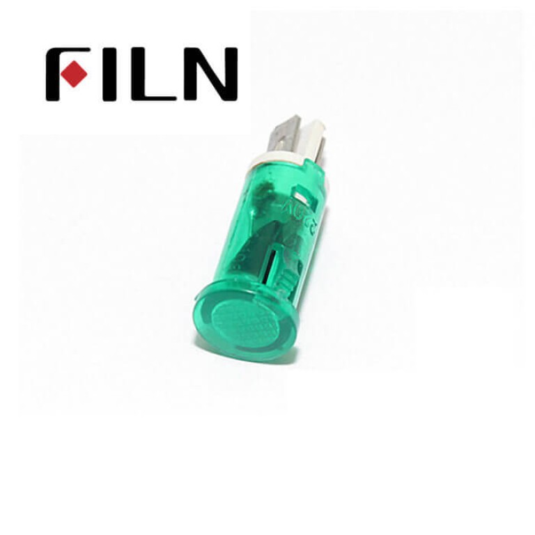 10mm 0.39inch 12V plastic led lndicator light(FL1P-10QJ-1)