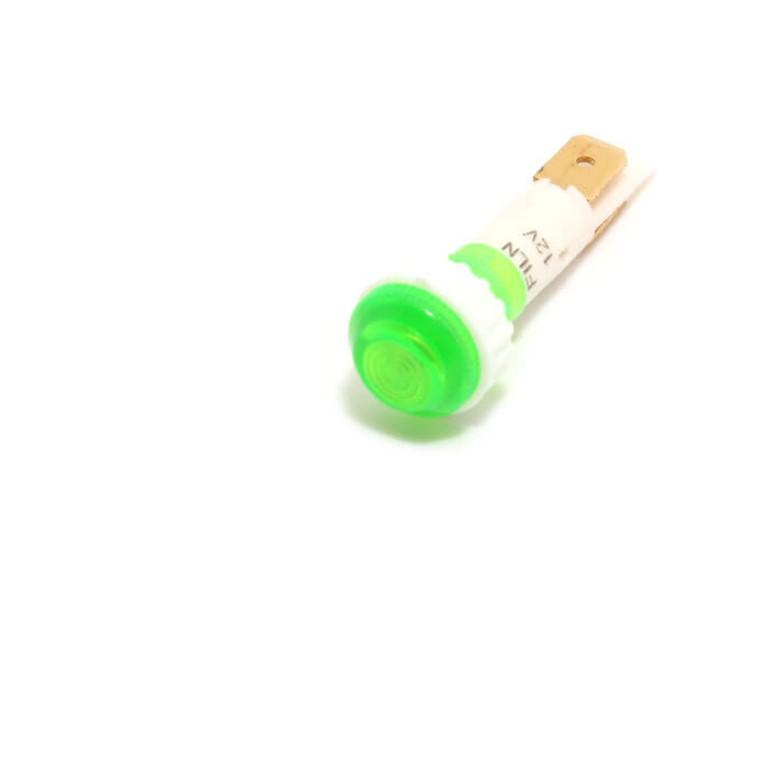 10mm 0.39inch 12V plastic led lndicator light(FL1P-10NJ-2)