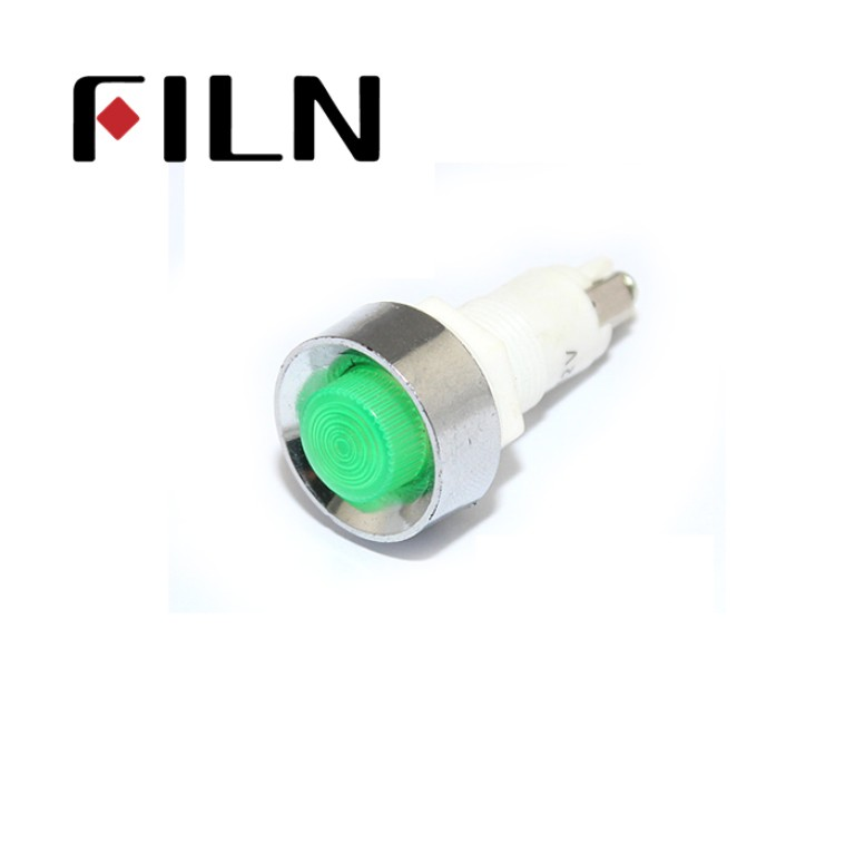 12.5mm 0.49inch 12V plastic led lndicator light(FL1P-12.5NA-1)