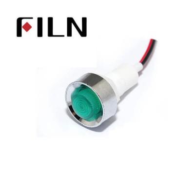 12.5mm 0.49inch 12V plastic led lndicator light(FL1P-12.5NW-1)