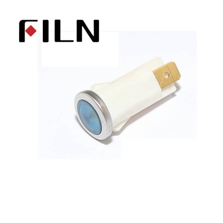 12.5mm 0.49inch 12V plastic led lndicator light(FL1P-12.5QJ-2)
