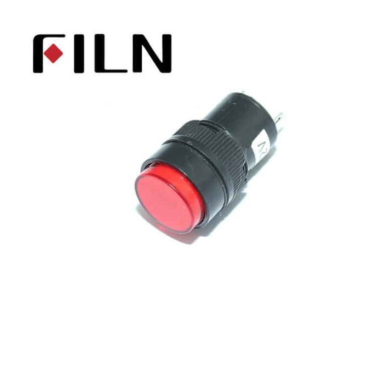 16mm 0.63inch 12V plastic led lndicator light(FL1P-16NJ-1)