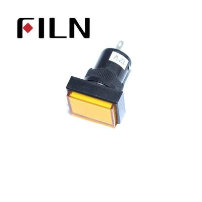 16mm 0.63inch 12V plastic led lndicator light(FL1P-16NJ-2)