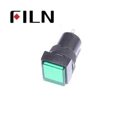 16mm 0.63inch 12V plastic led lndicator light(FL1P-16NJ-3)