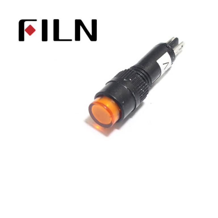 8mm 0.31inch 12V plastic led lndicator light(FL1P-8NJ-2)