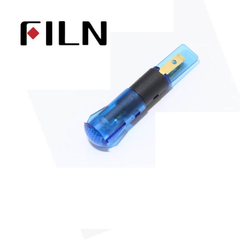 8mm 0.31inch 12V plastic led lndicator light(FL1P-8QJ-2)