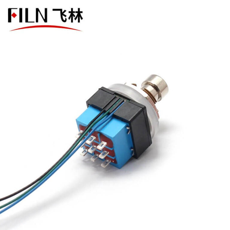 3PDT guitar FOOT SWITCH with led