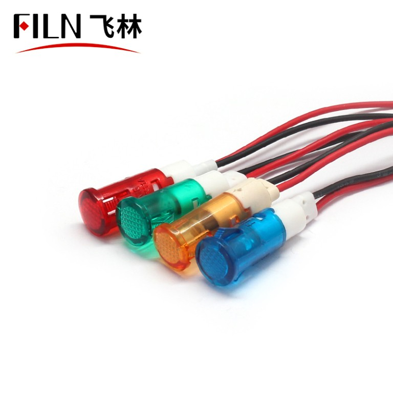 10mm 220v water heater plastic indicator light