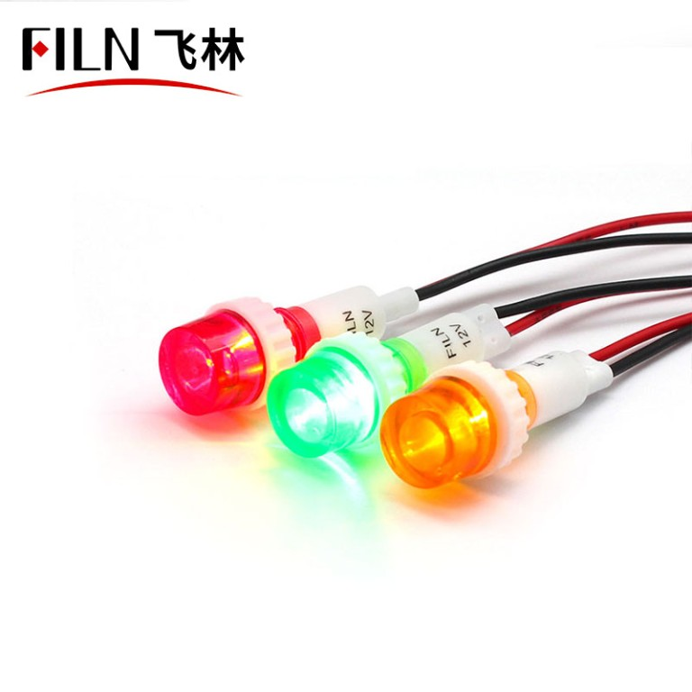 10mm Good Price 240v neon indicator light