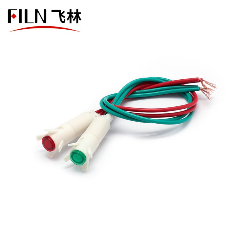 6MM 110V  refrigerator panel neon plastic indicator light