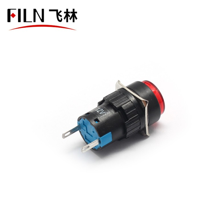 16mm 380v Distribution box plasitc blue indicator light