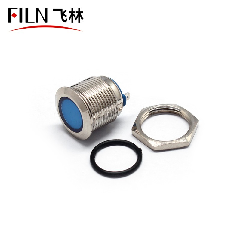 12V LED good price stainless steel 16MM metal indicator light