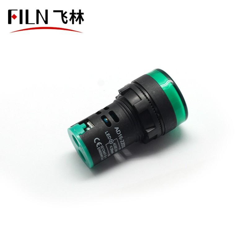 22mm 12v led plastic indicator light