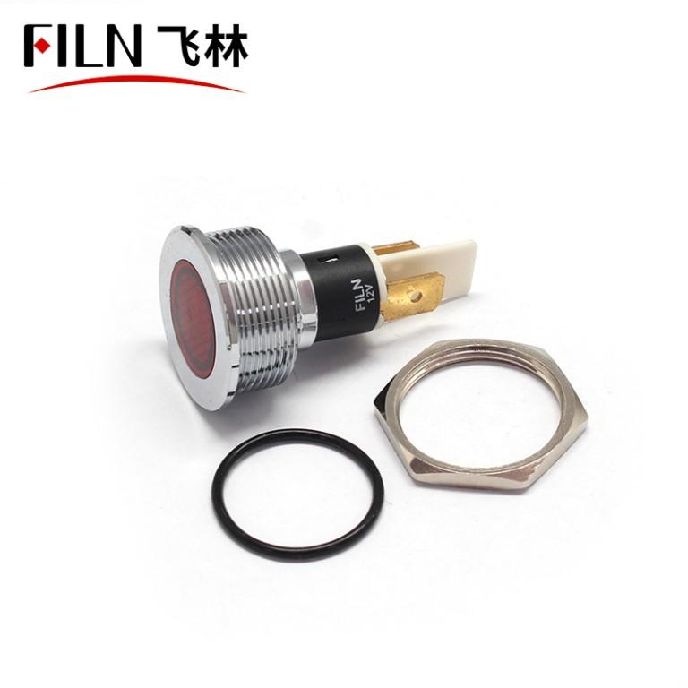 22mm IP68 Metal Navigation Indicator Light