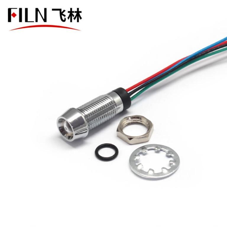 8mm 12v metal Welding machine indicator light
