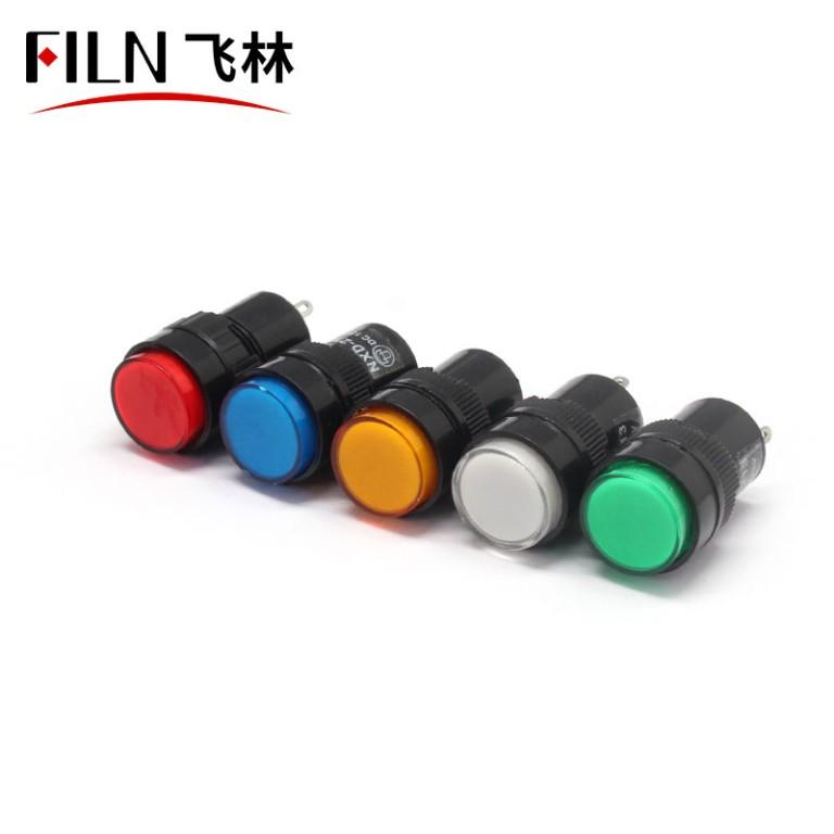 16mm 220v led Distribution box plastic indicator light