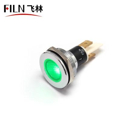 22mm stainless steel ip68 metal navigation indicator light