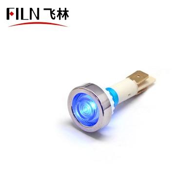 10mm 2/5 3V Light with Red Indicator Light Cover