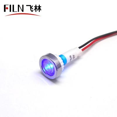 10MM Blue 12V LED Panel Indicator Lights