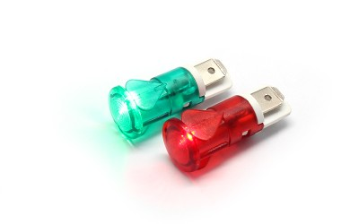 Strongly Introduction 12MM FL1P-12QJ-1 Terminal Indicator Light