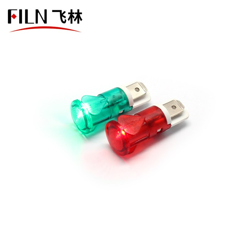 12mm 12v led ip67 plastic indicator light