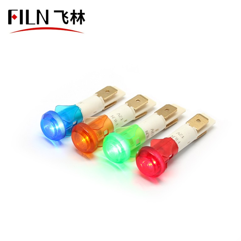 10mm 380v neon bulb ip67 singal plastic indicator light