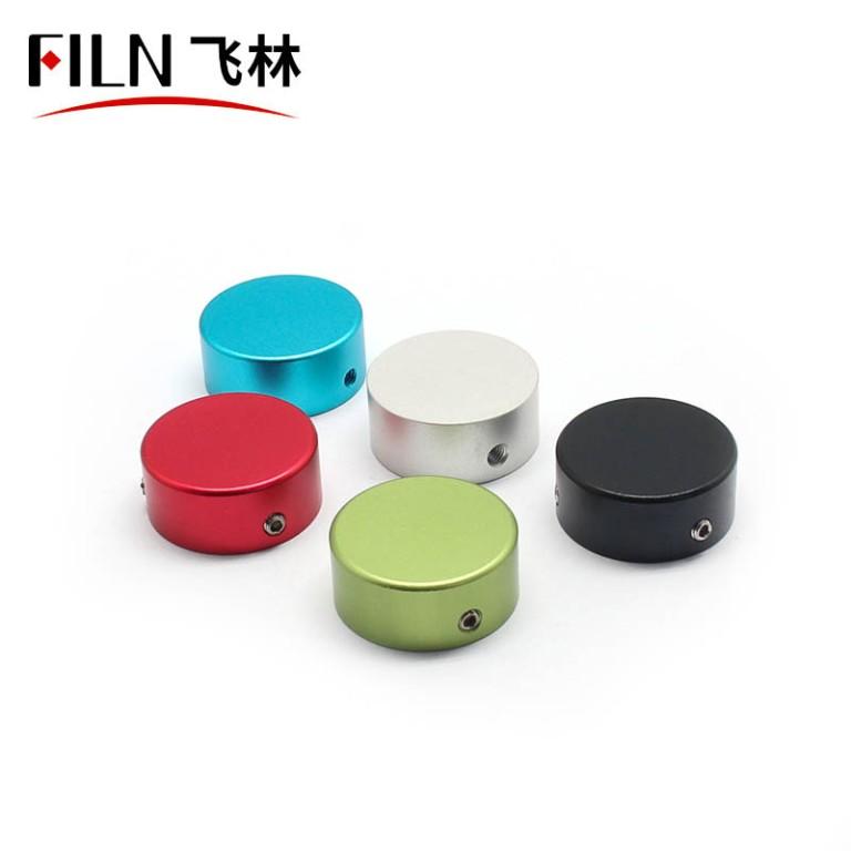 Multiple color guitar switch caps