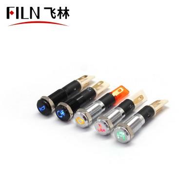 8MM 12V Custom Car Symbol Indicator Light