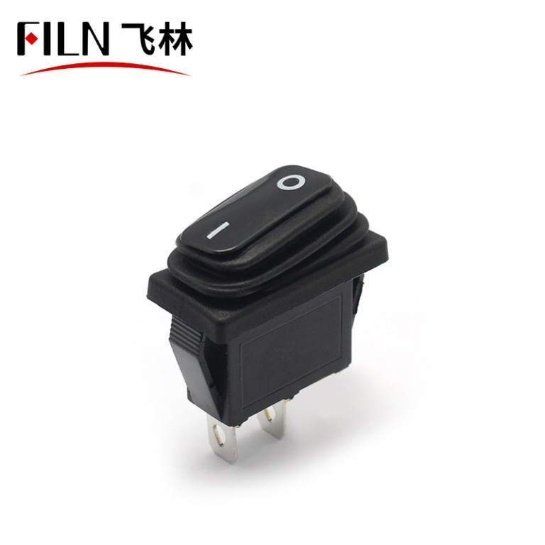2PIN 15A 220V ON OFF momentary waterproof ip65 small autozone rocker switch
