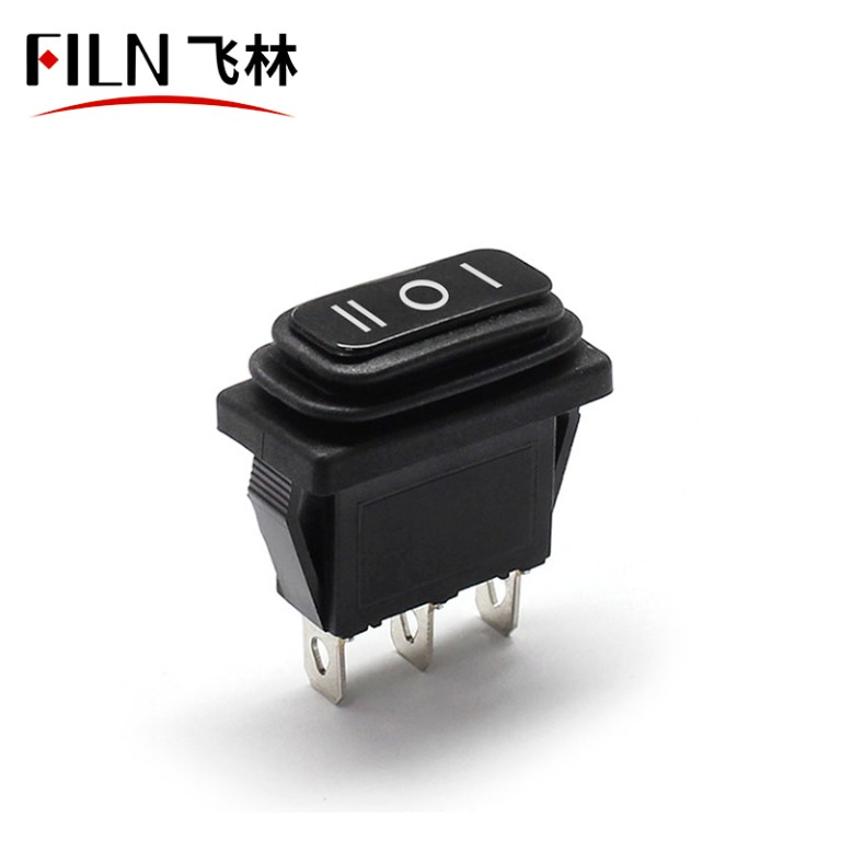 10×28 kcd3-103 on-off-on waterproof ip67 110v 48v  automation rocker switch