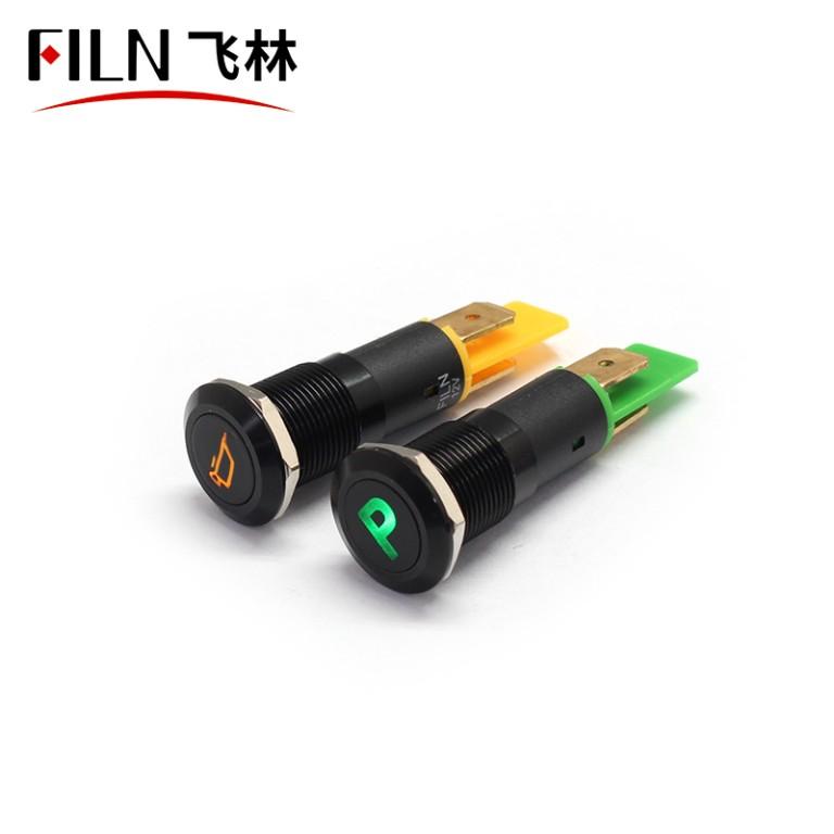 12mm Waterproof IP67 Metal Indicator Light