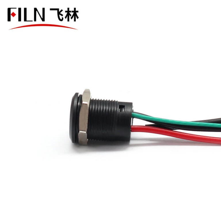 New 12mm 220V Custom 12V Push Button Switches