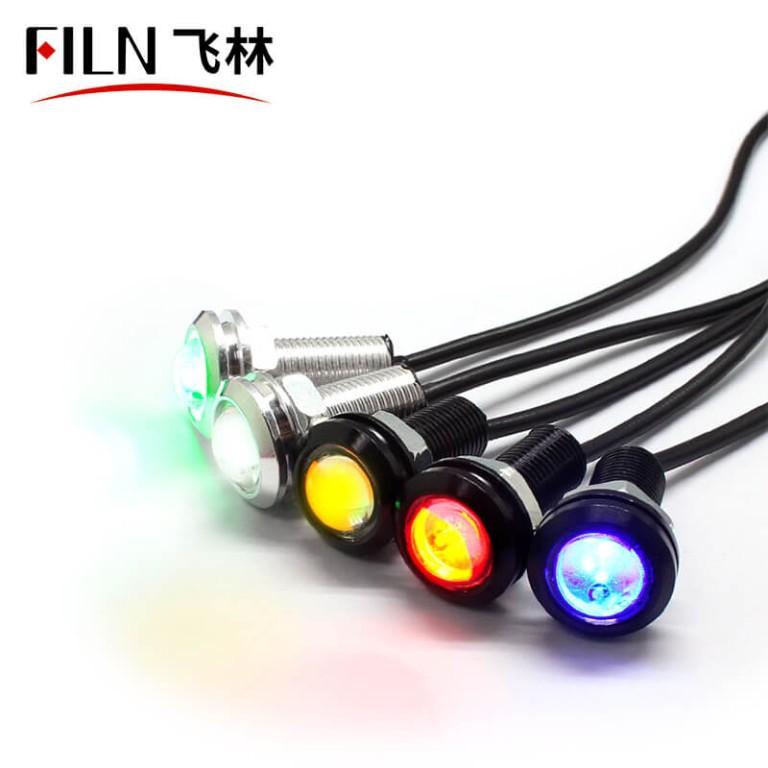 10mm IP68 12v 1w LED High-Flux Indicator Light