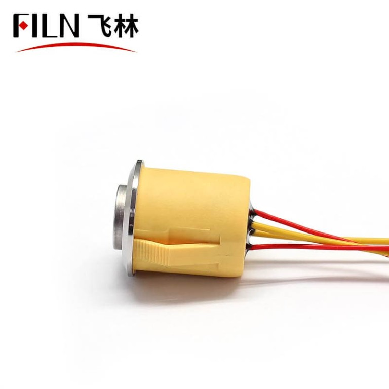 19MM New Push Button Switch with Leads 12V LED Light