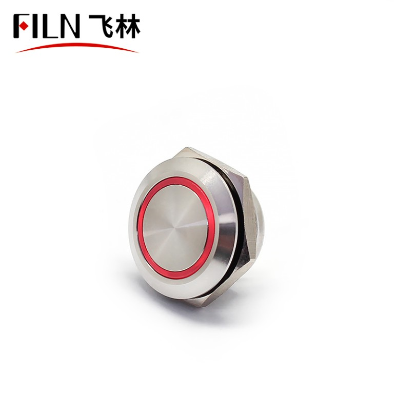 19MM Water Proof Metal Contact Wireless Push Button Switch