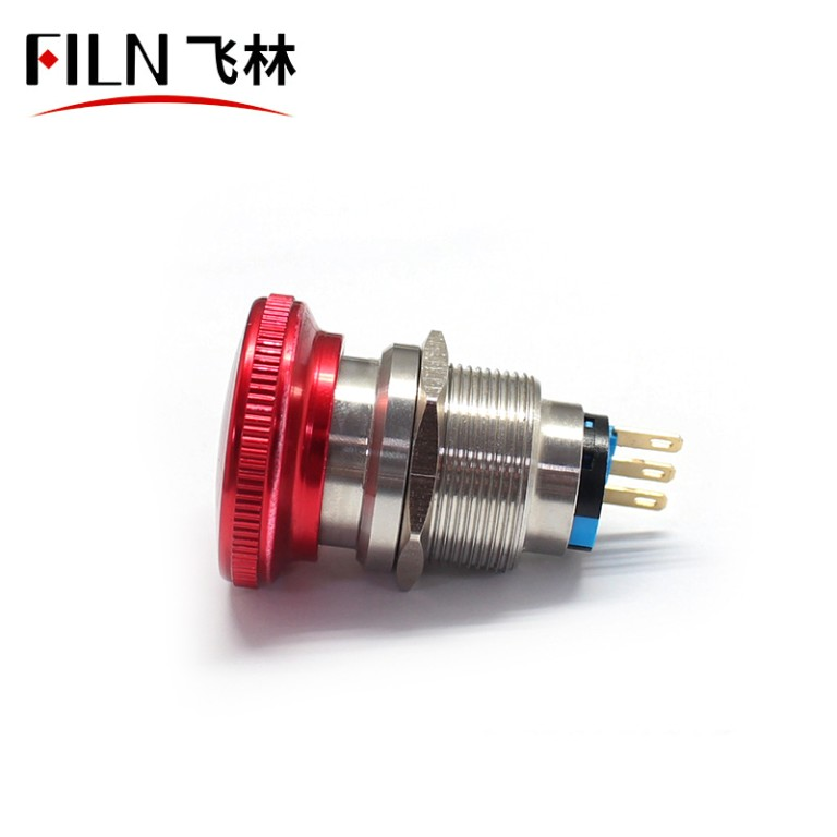 22MM IP65 FILN Emergency Stop Push Button Switch