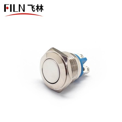 FILN 16MM Cheap Price Copper Core Feet Shot Momentary Push Button Switch Normally Open