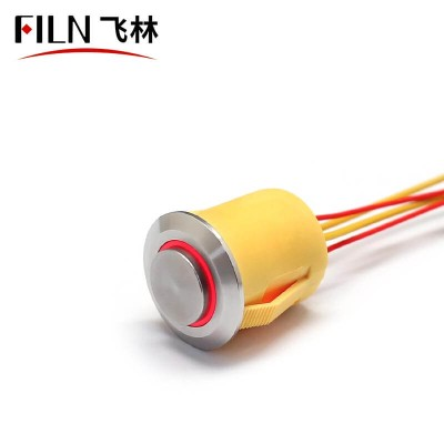19MM New 12V LED Light Push Button Switch Price