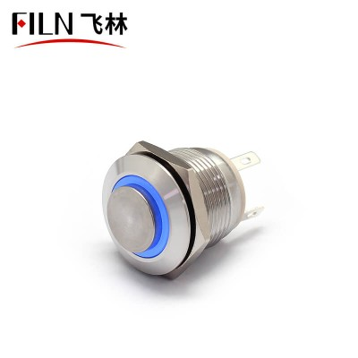19MM High Large Current 10A Push on Push Button Switch