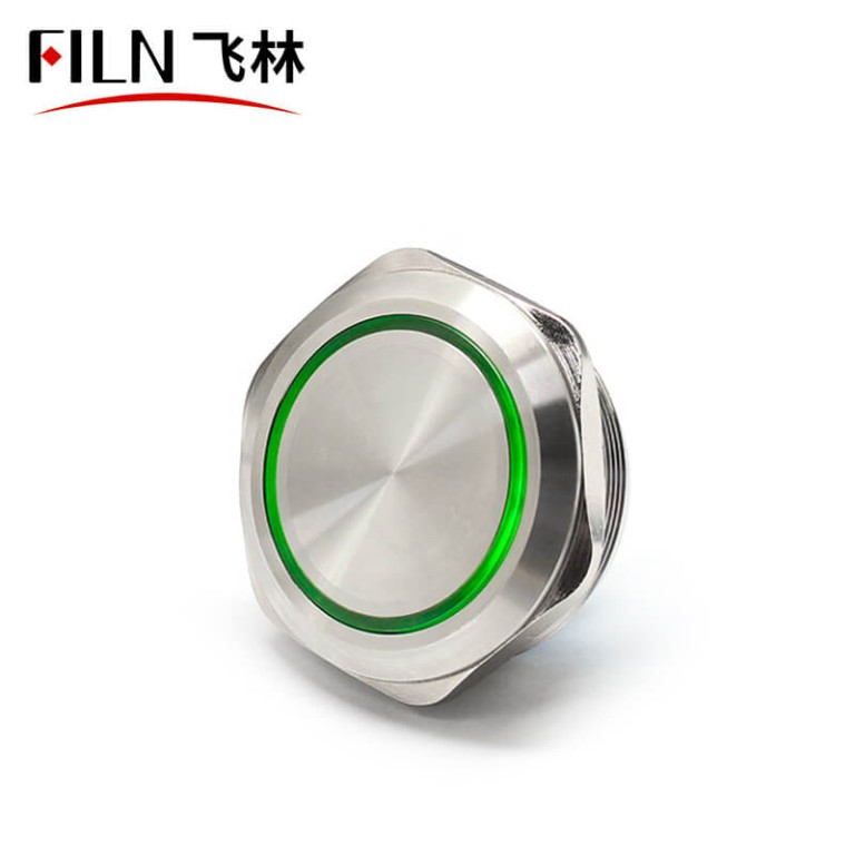 40mm Red 12VLager Big Push Button Switch