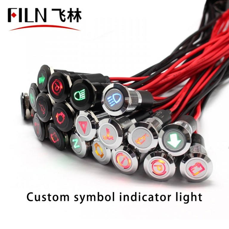 8MM KIA Malfunction Indicator Light Red LED