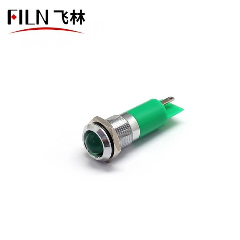 14mm Green New LED Door Indicator Light