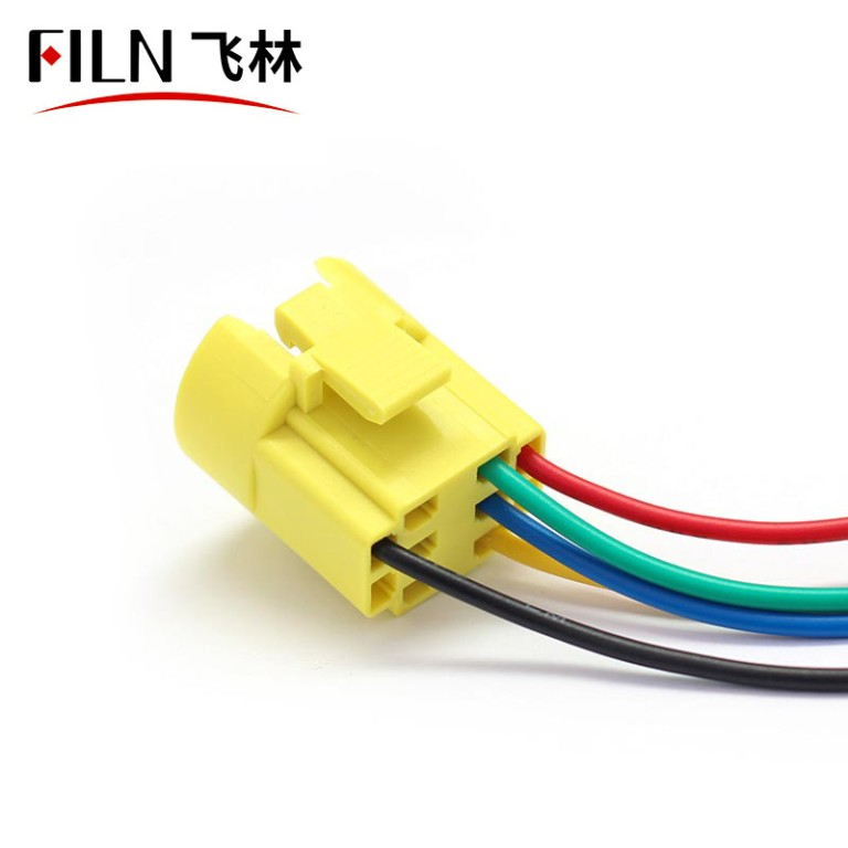 22mm Wire Connector Wiring Pigtail Socket Plug Adapter Switch Harness for Push Button Switches