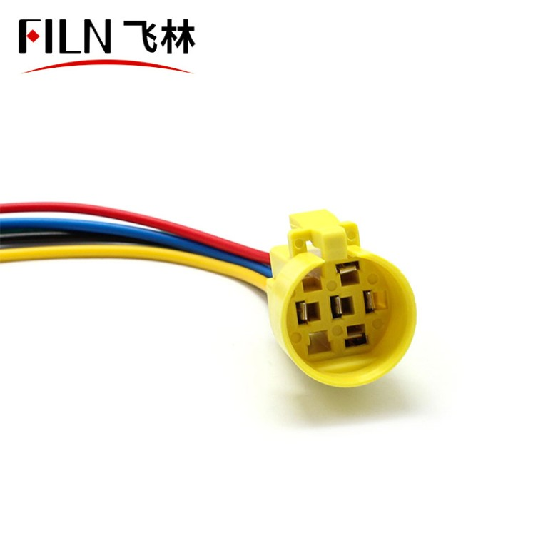 19mm Harness (For Switch, Illuminated Type, 2NO2NC) Switch Connector