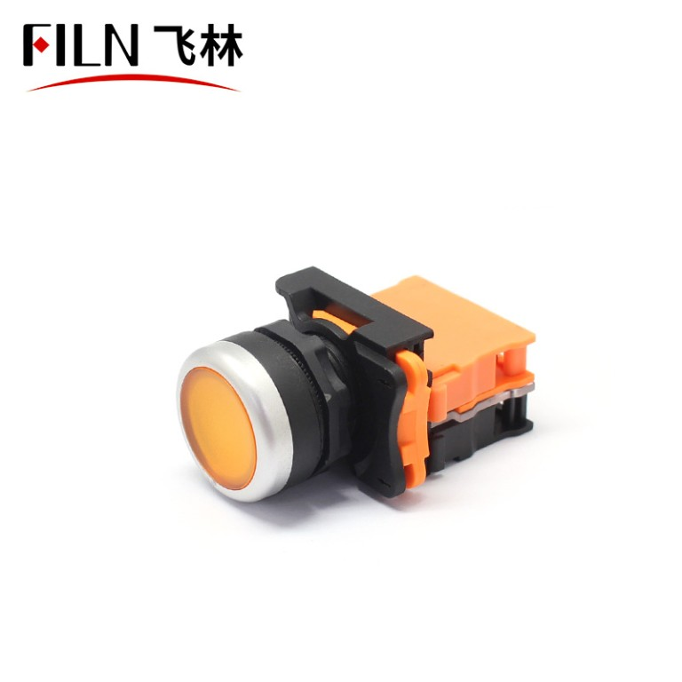 Plastic Switch Button Momentary Or Latching Lens Illuminated